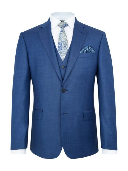 House Of Fraser Mens Suit Wedding Navy Beth Price Style