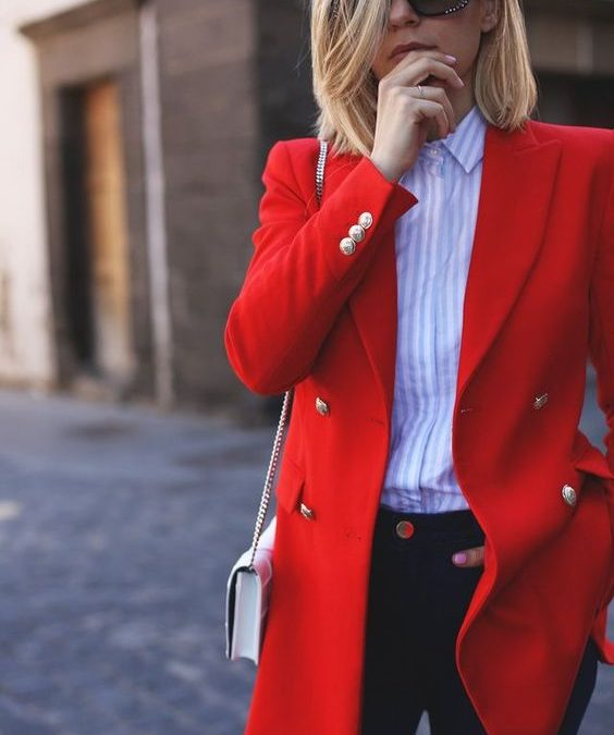 Red Alert! How to wear red to suit your style personality