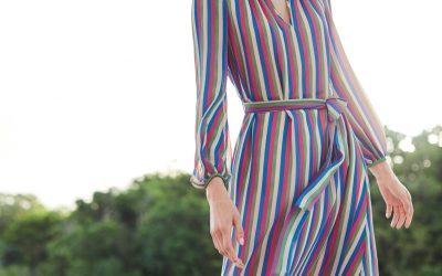 3 Ways to Wear Rainbow Stripes