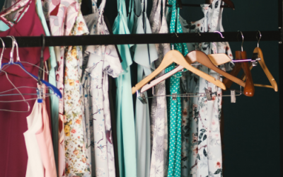 What happens when a stylist de-clutters their own wardrobe?